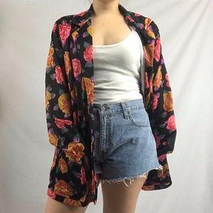 Jackets & Blazers - 70s Floral Blazer